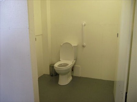 Wheelchair access to this Loo